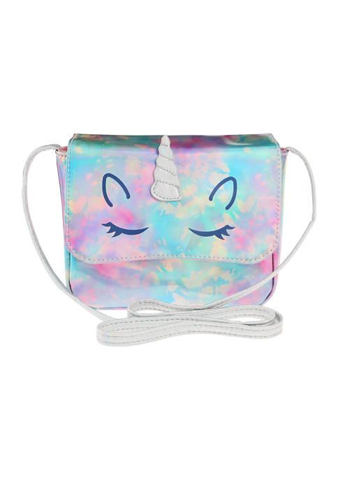 Capelli New York Girls Tie Dye Unicorn Crossbody
