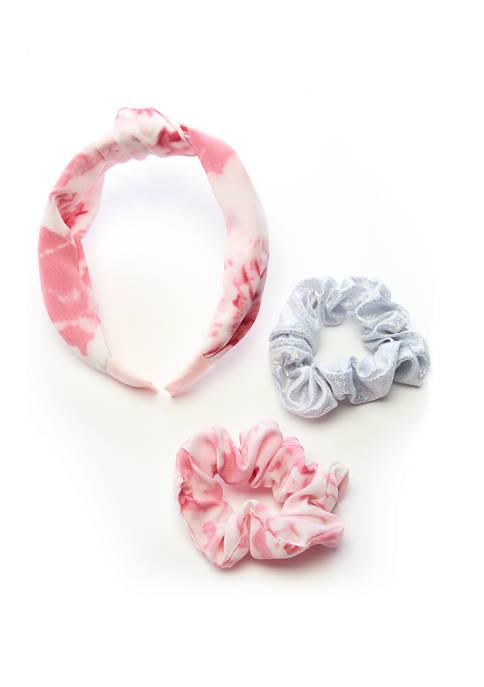 Capelli New York Tie Dye Knot Headband Set