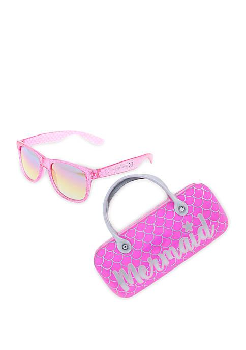 Capelli New York Mermaid Scales Sunglasses Set