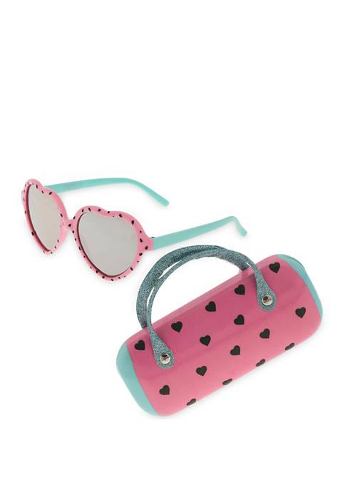 Capelli New York Girls Watermelon Sunglass Set