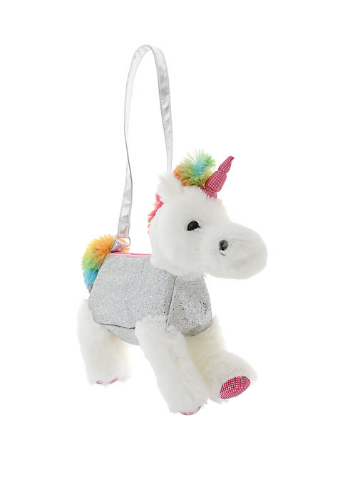 Capelli New York Girls 4-6x Unicorn Plush Rainbow