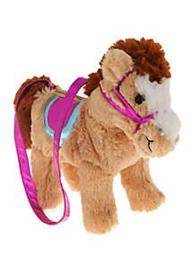 Capelli New York Horse Plush Bag
