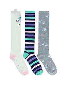 Unicorn Knee High Socks