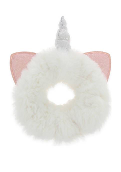 Capelli New York Girls Unicorn Faux Fur Twister