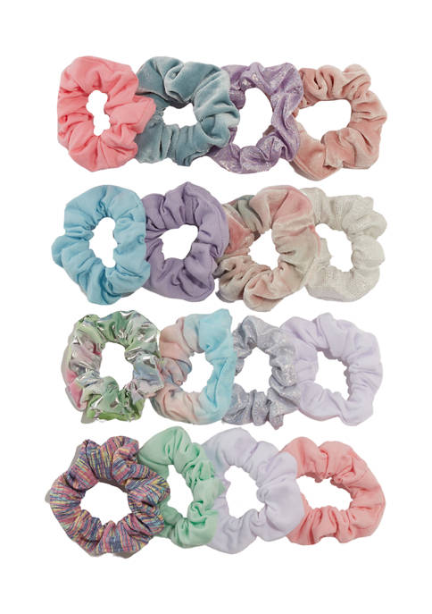 Capelli New York Girls 4-6x Cord Twister Scrunchies