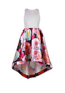 Speechless Girls 7-16 Floral High Low Maxi Dress