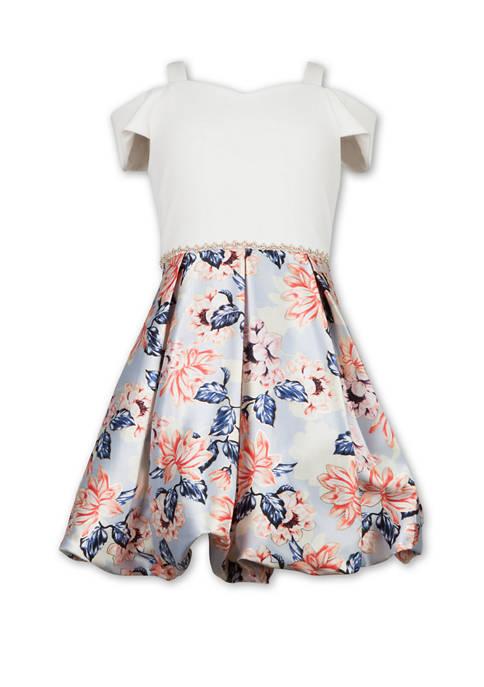 Girls 7-16 Foil Bubble Dress