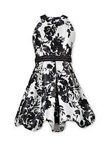 Speechless Girls 7-16 Floral Halter Bubble Dress