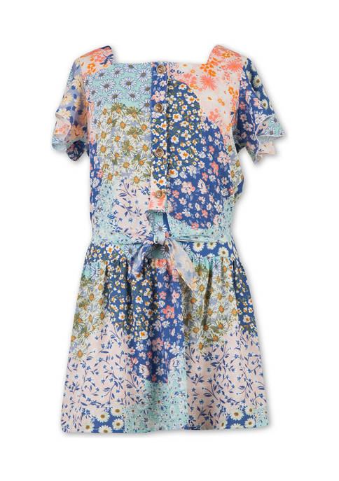 Girls 7-16 2 Piece Floral Skirt Set