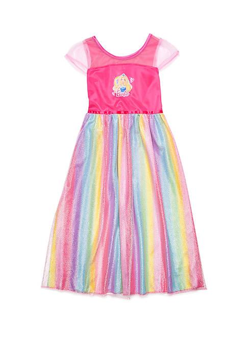 Girls 4-8 Barbie Fantasy Sleep Gown