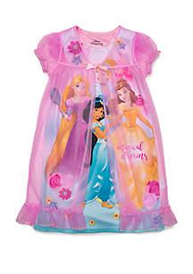 Girls 4-10 Princess Peignoir Set