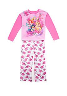 Disney® Princess Girls 4-10 Disney Princess 2 Piece Pajama Set