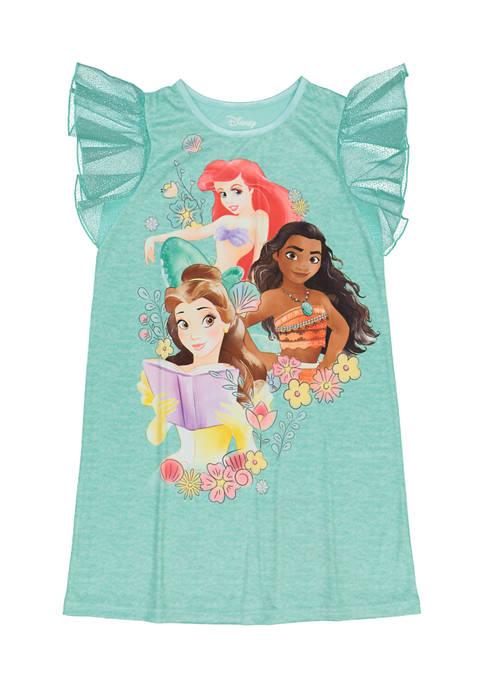Disney® Princess Girls 4-6x Flutter Sleeve Princess Graphic