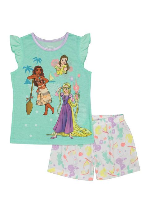 Disney® Princess Girls 4-16 Disney Character Pajama Set