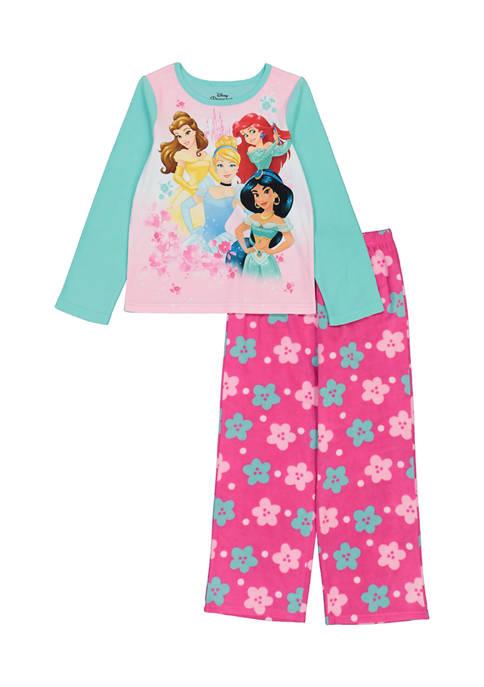 Disney® Princess Girls 4-6x Princess Graphic Fleece Pajama