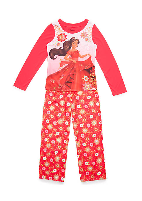 Disney® Girls 4-16 Moana Pajama Set