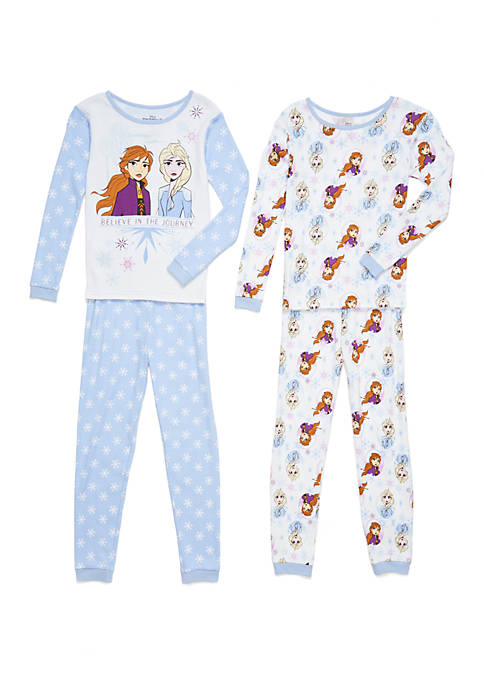 Disney® Frozen Girls 4-10 2 Piece Pajama Set