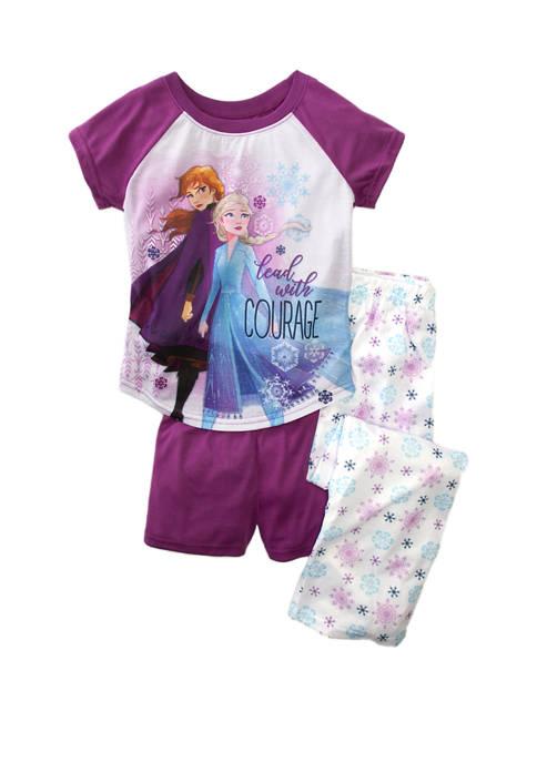 Disney® Frozen 2 Girls 4-8 3 Piece Printed