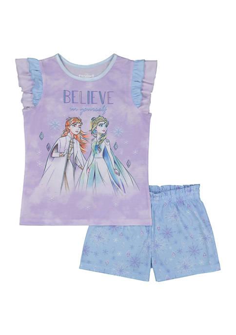 Girls 4-16 Frozen Pajamas