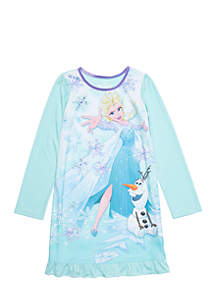 Girls 4-8 Frozen Night Gown