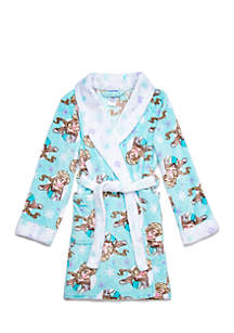 Girls 4-16 Frozen Big Girl Robe