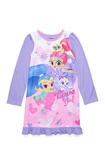 Girls 4-16 Shimmer and Shine Nightgown