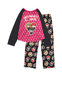 Girls 4-16 Harry Potter Pajama Set