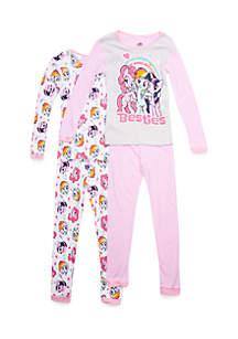 Girls 4-16 My Little Pony Pajama Set