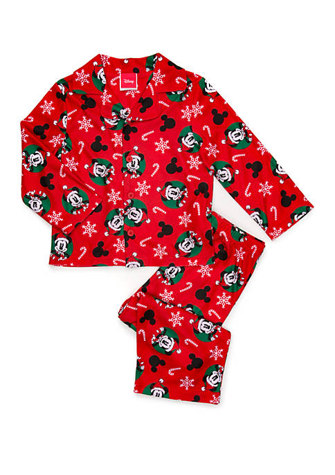 Disney® Mickey Big Kids 2 Piece Pajama Set