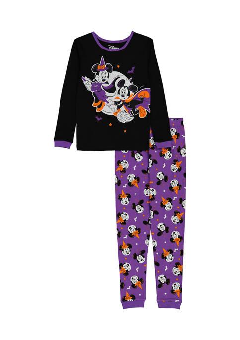 AME Girls 4-16 Mickey and Minnie Halloween Pajama