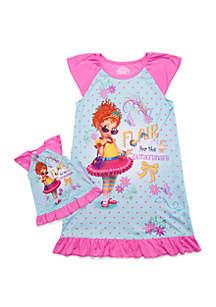 Disney® Junior™ Girls 4-10 Fancy Nancy Doll Pajama Set