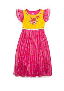 Disney® Girls 4-8 Fancy Nancy Fantasy Nightgown