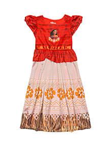 Disney® Girls 4-8 Moana Fantasy Gown