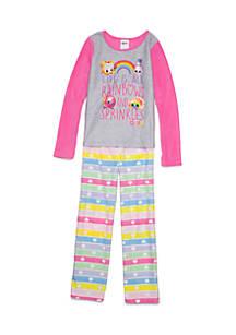 981bb8dca5 Shopkins™. Shopkins™ Fleece 2-Piece Pajama Set Girls ...