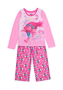 Girls 7-16 Trolls Pajama Set