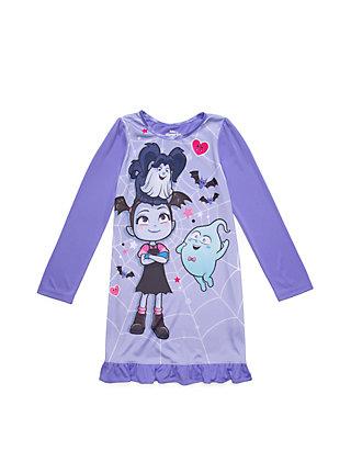 Vampirina Girls Short Sleeve Fashion Top and Capri Legging Set 4-6X