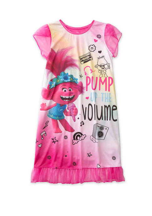 DreamWorks Trolls™ Girls 4-10 Graphic Nightgown