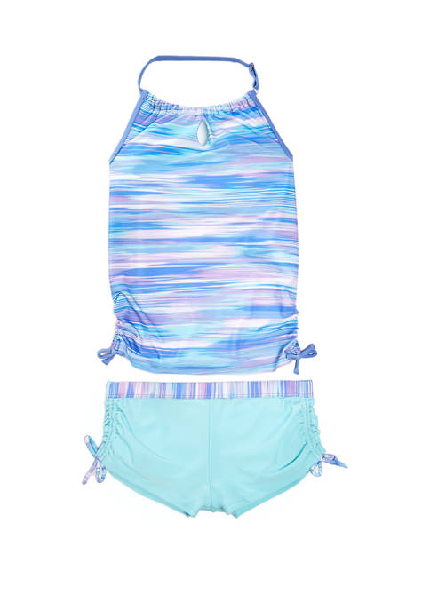 Free Country Girls 7-16 Oasis Tankini Swimsuit