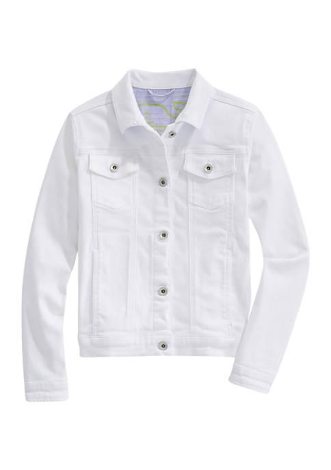 Girls 7-16 Denim Jacket