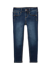 TRUE CRAFT Girls 4-6x Skinny Dark Wash Denim Jeans