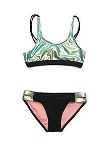 f4021f65c13 ... Crown   Ivy™ Girls 7-16 Reflection 2 Piece Swimsuit