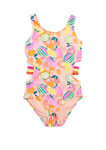9b5bd9a9ad6 ... Crown & Ivy™ Girls 7-16 Fruit Fight One Piece Swimsuit