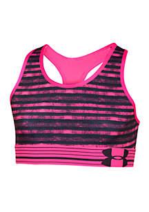 HeatGear® Armour Printed Sports Bra Girls 7-16