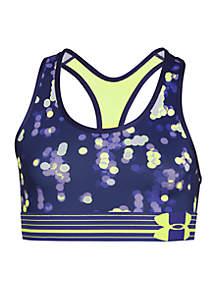 Under Armour® HeatGear® Armour Printed Sports Bra Girls 7-16