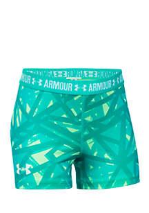 HeatGear® Armour Printed Short Girls 7-16
