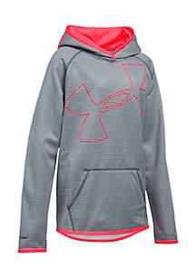 Fleece Novelty Jumbo Logo Hoodie Girls 7-16