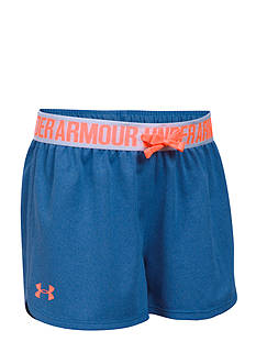 Under Armour® Solid Play Up Short Girls 7-16