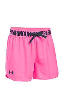 Girls 7-16 Solid Play Up Shorts