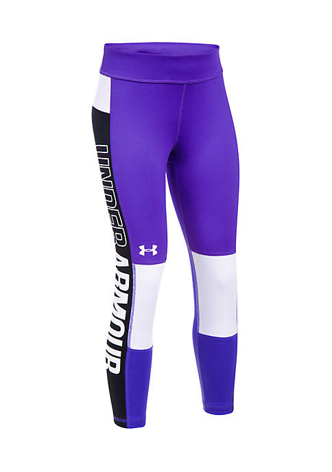 Under Armour® Color Block Crop Leggings Girls 7-16