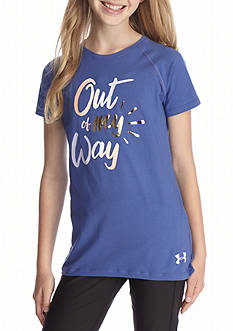 Under Armour® 'Out of My Way' Graphic Tee Girls 7-16